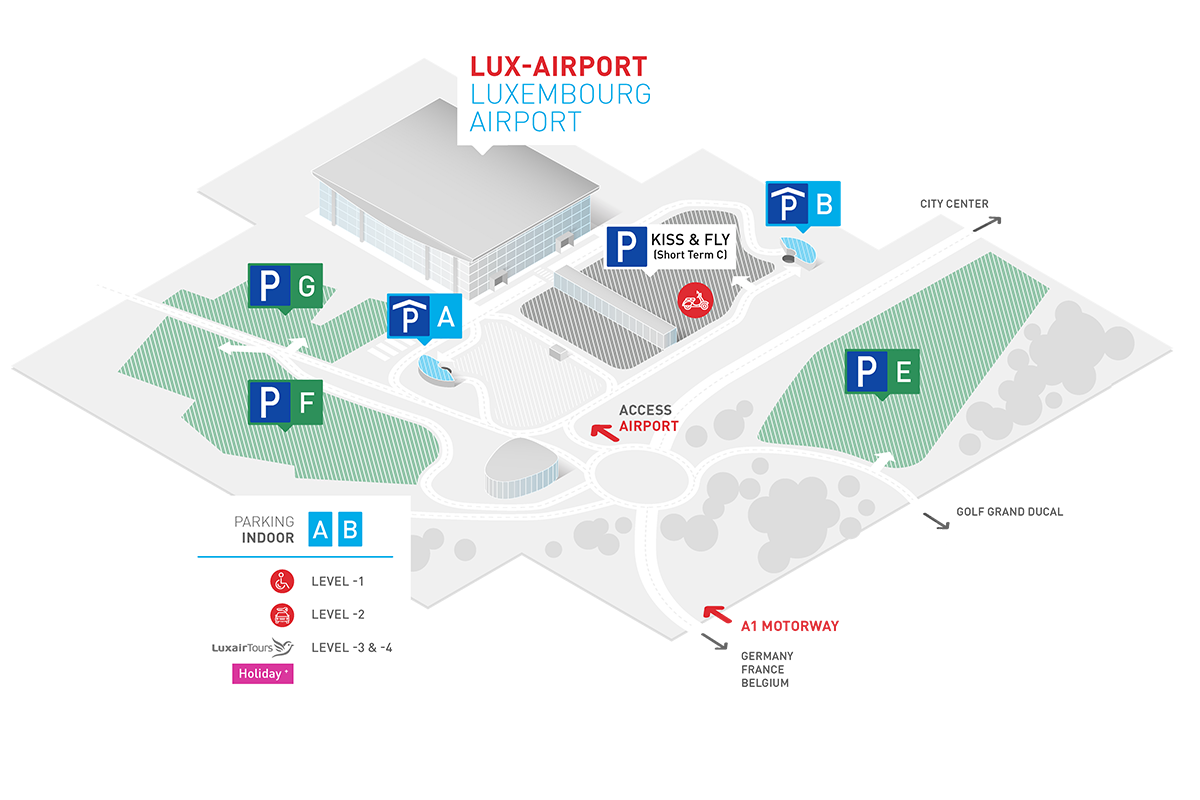 Parking Luxembourg Airport Luxembourg Airport