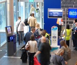 First flight at the Terminal B at Luxembourg Airport - Luxembourg - Copenhagen
