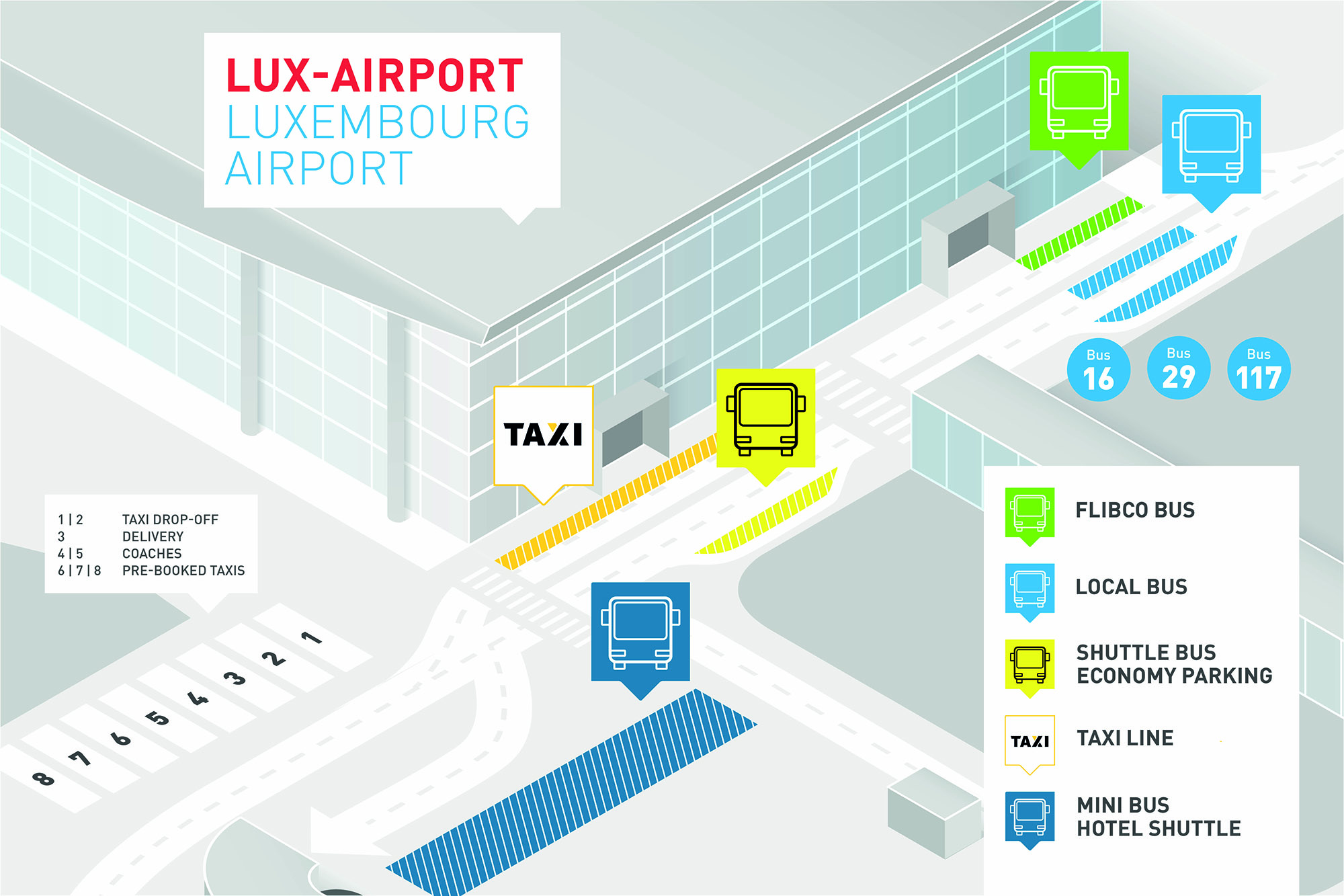 How to Get to Luxembourg Airport by Bus : Luxembourg Airport